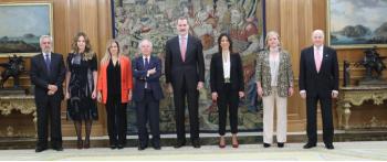 S. M. el Rey D. Felipe VI recibe al Instituto Marítimo Español