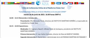 I Ciclo de Conferencias Online de la Plataforma Clúster Azul