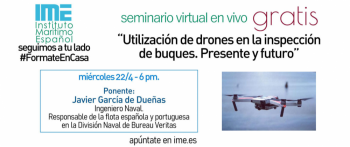 Utilización de drones en la inspección de buques. Presente y futuro