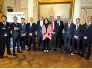 Representantes de destacadas compañías del CME: Marflet, Navantia, Fernández Jove, Instituto Marítimo Español, Siport21, Wiresa, Bureau Veritas y Ghenova Ingeniería, entre otras.